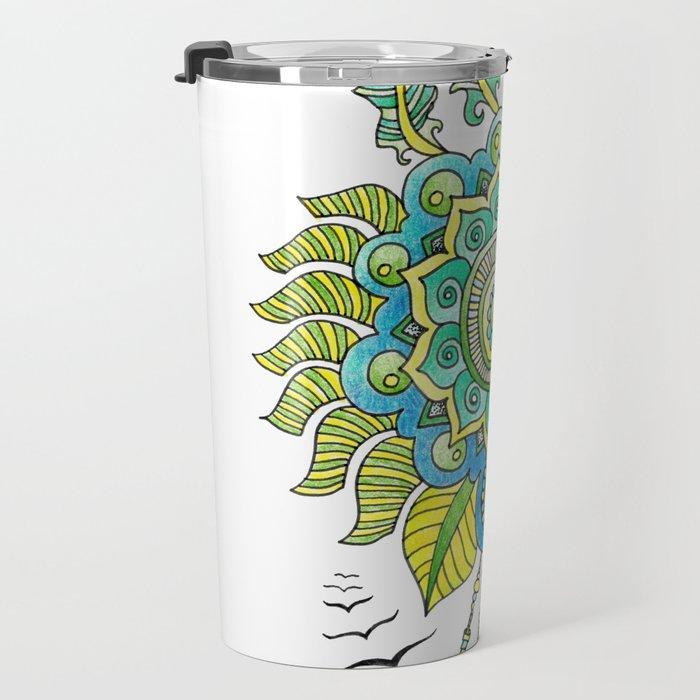 Dreamy Mandala Travel Mug