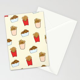 Gimme Fries Stationery Cards