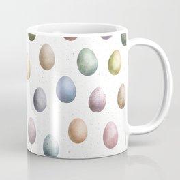 Pastel Eggs Pattern Coffee Mug