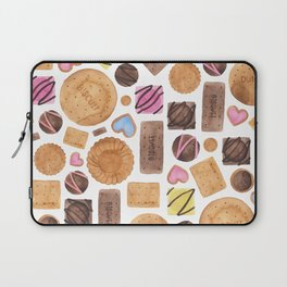 Selection of Sweets, Candy, Cakes and Biscuits Laptop Sleeve
