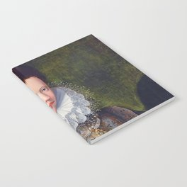 Portrait of Court Lady with Dog by Lavinia Fontana Notebook