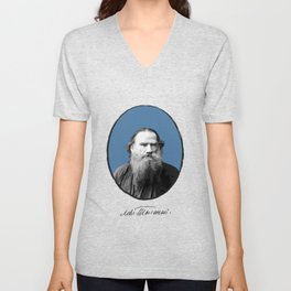 Authors - Lev Tolstoj Unisex V-Neck
