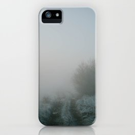 Mysterious Roads iPhone Case