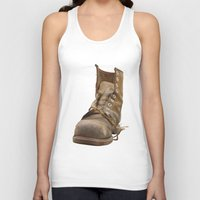 road Tank Tops featuring Road by Art Pass