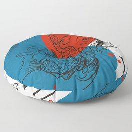 Kanji Rivers Floor Pillow
