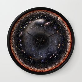 Our Universe In One Painting Wall Clock
