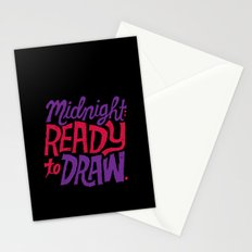 Midnight: Ready to Draw Stationery Cards