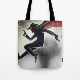 The Shadow Knows Tote Bag