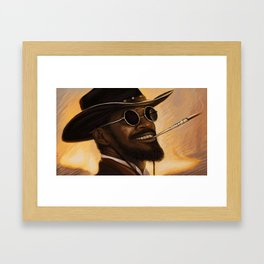 Django - Our newest troll Framed Art Print