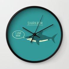 Sharkasm Wall Clock