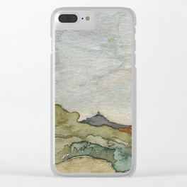 The South Six Shooter Clear iPhone Case