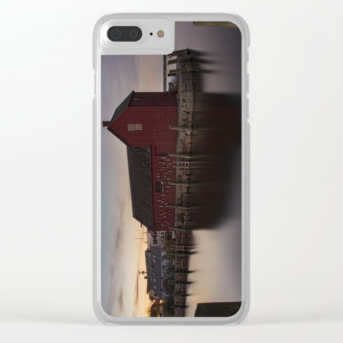 Motif #1 after sunset Clear iPhone Case