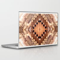 geode Laptop & iPad Skins featuring Tucson Geometric Geode by Maison Donaville