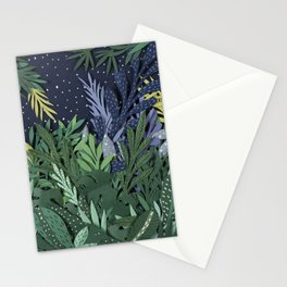 Green Jungle Stationery Cards