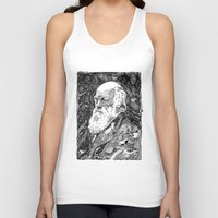 darwin Tank Tops featuring 'Darwin' by Sarah King by We Are West Coast