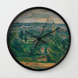 Landscape from Jas de Bouffan Wall Clock