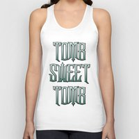 haunted mansion Tank Tops featuring Haunted Mansion - Tomb Sweet Tomb by Brianna