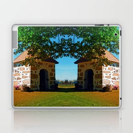 The Binder chapel (and some tree) Laptop & iPad Skin