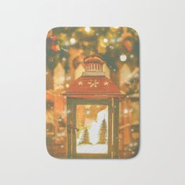 Christmas Lantern. Bath Mat