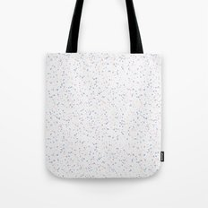 Speckles I: Rose Quartz & Serenity on Snow Tote Bag