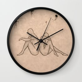 Undesired Thoughts Wall Clock