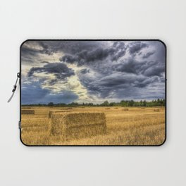 Stormy day on the farm Laptop Sleeve