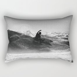 Iconic Indo Surfer Rectangular Pillow