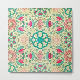 Colorful Mandala #04 Metal Print