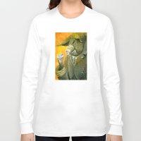 farm Long Sleeve T-shirts featuring Animal Farm by Studio Drawgood