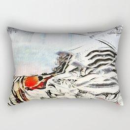 Burn Barrel Rectangular Pillow