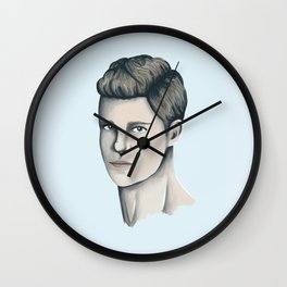 Lincoln Campbell Wall Clock