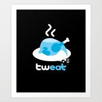 tweat Art Print