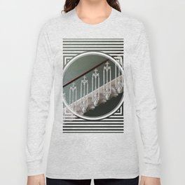 Stairway to Heaven - geometric circle Long Sleeve T-shirt