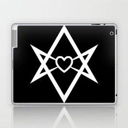 Thelema Heart Laptop & iPad Skin