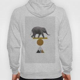 Tribal Elephant Hoody