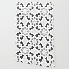 Oriental Pattern - Geometric Design - lines Wallpaper