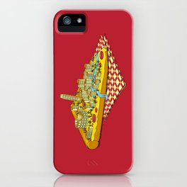 Hungry for Travels: Slice of Italy iPhone Case