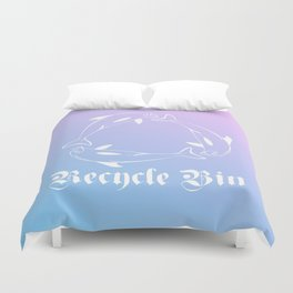 RECYCLE BIN Duvet Cover