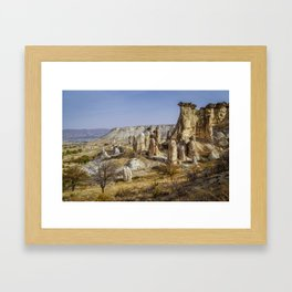 The beauty of canyons Framed Art Print
