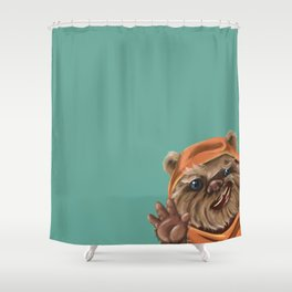 Ewok Shower Curtain