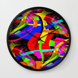 Bent Wall Clock