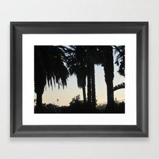 Santa Barbara Sunset Framed Art Print