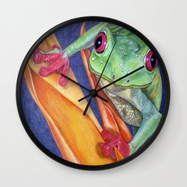 What You Lookin At?? Wall Clock