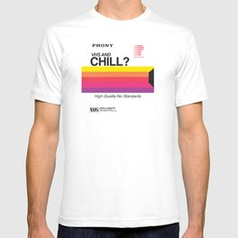 VHS and Chill T-shirt