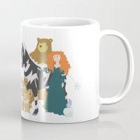 merida Mugs featuring Team Merida by Citron Vert