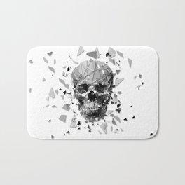 Exploded skull Bath Mat