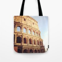 rome Tote Bags featuring Rome  by Anna's design
