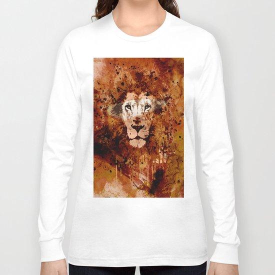 WATERCOLOR KING Long Sleeve T-shirt