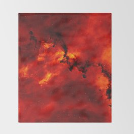 Solar Flare Throw Blanket