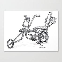 FrankenBike! Canvas Print